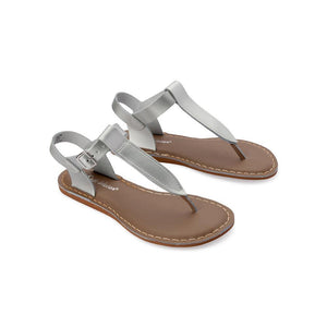 Salt Water Adult T-Thong Shoes Silver - Global Free Style