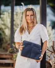 Louenhide Clare Navy Laptop Compendium Bag - Global Free Style