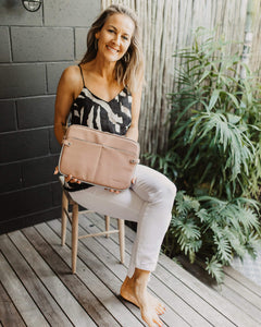 Louenhide Clare Pale Pink Laptop Compendium Bag - Global Free Style