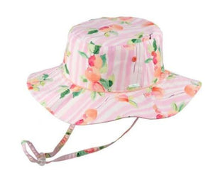 Millymook Girls Hat Floppy Mollie Peach - Global Free Style