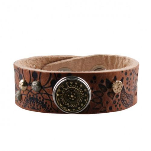 Noosa Amsterdam Natural Divali print single bracelet - Global Free Style
