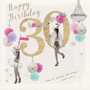 Privee Card HAPPY 30TH - Global Free Style