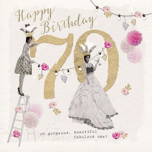 Privee Card HAPPY 70TH - Global Free Style