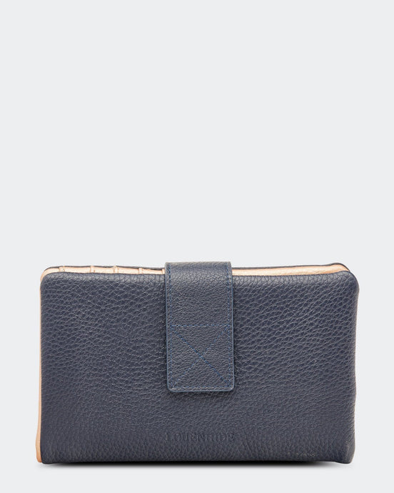 Louenhide Bailey Wallet Navy - Global Free Style