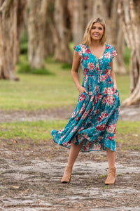 Boho Adelaide Midi Dress - Global Free Style