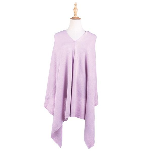 Ameise Poncho Alice Lilac Purple - Global Free Style