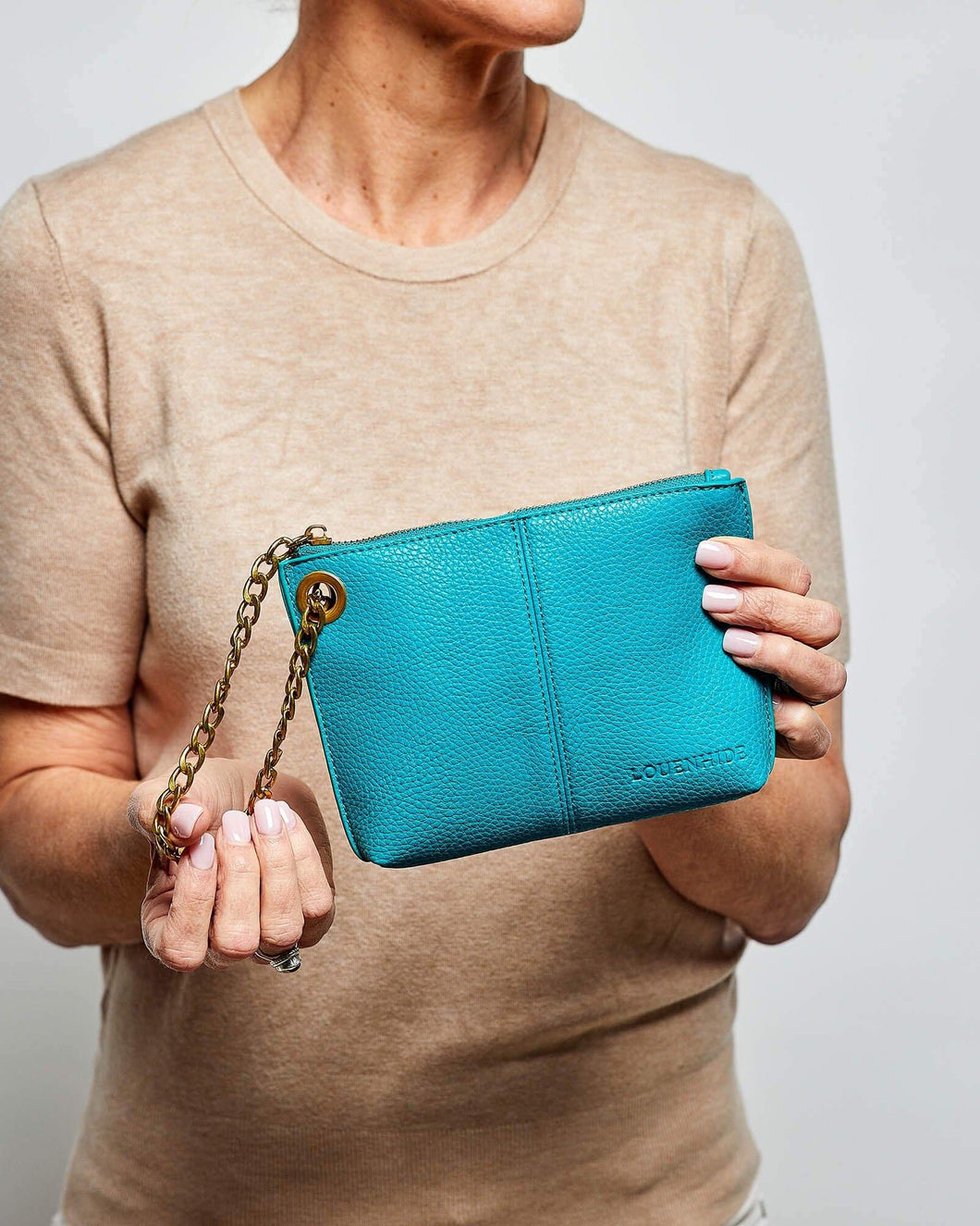 Louenhide Tasha Turquoise Clutch - Global Free Style