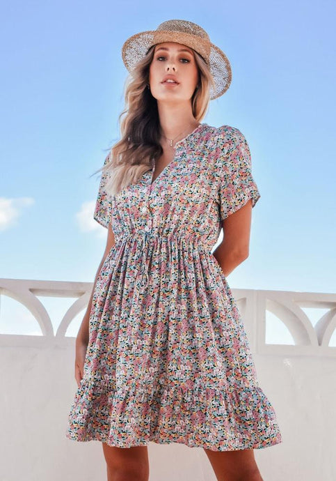 Sanctum The Label Cable Dress Multi - Global Free Style