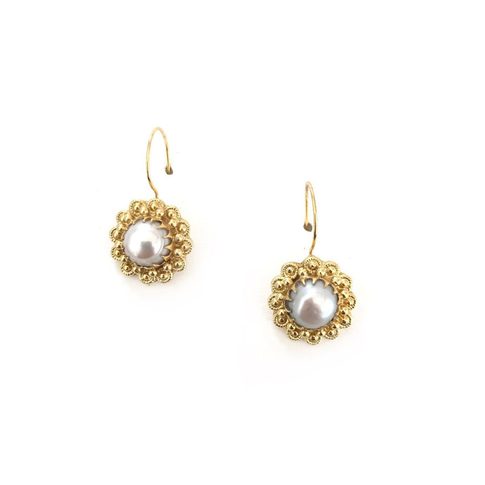 Zoda Merie Earrings Pearl - Global Free Style