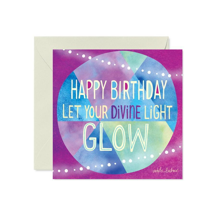 Intrinsic Diving Light Birthday Greeting Card - Global Free Style