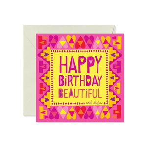 Intrinsic Birthday Beautiful Card - Global Free Style
