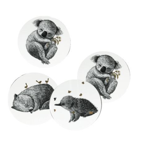 Urban Coasters Oz Animals - Global Free Style