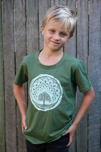 Skumi Boys T Shirt Universe Tree - Global Free Style