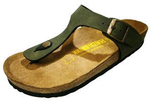 Neckermann Classic Thong Shoe Olive Green - Global Free Style