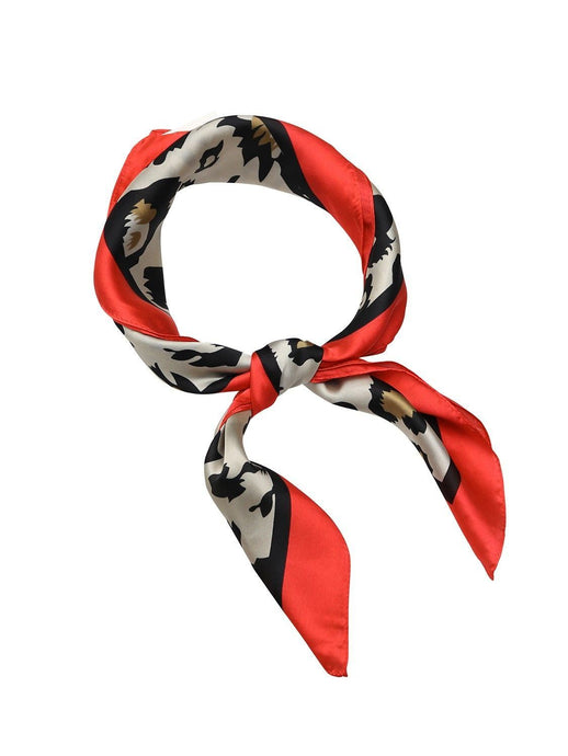 Tiger Tree Flame Capri Leopard Scarf - Global Free Style