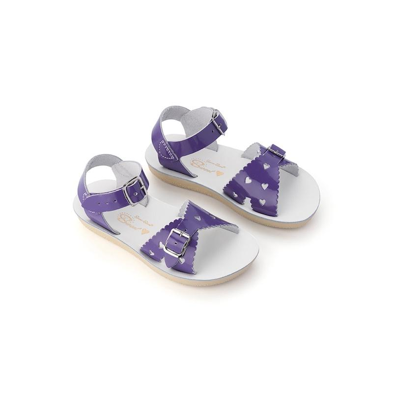 Salt Water Sweetheart Sandals Youth Purple - Global Free Style