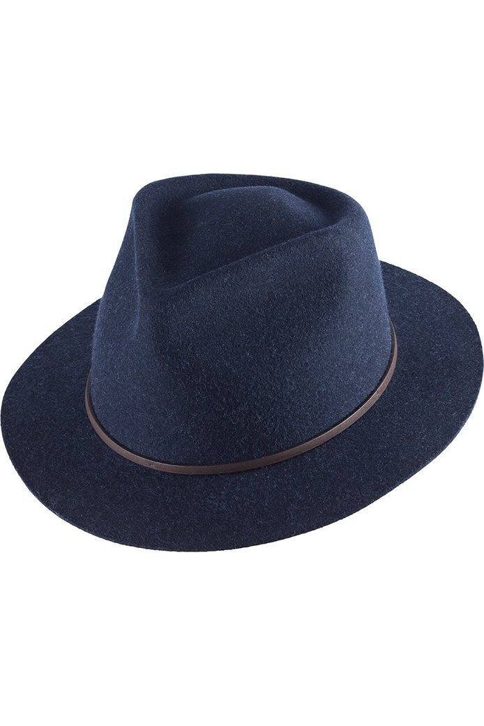 Kooringal Ladies Fedora Hat Hayle Indigo - Global Free Style