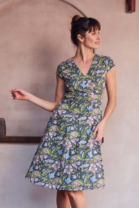 MahaShe Wrap Dress Hibiscus - Global Free Style