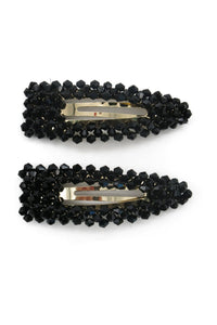 Morgan & Taylor Miabella Hair Clip Set Black.. - Global Free Style