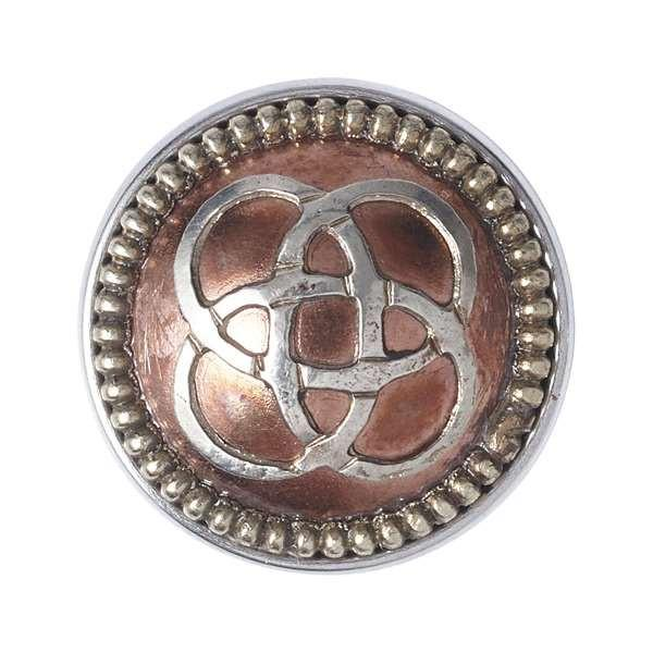 Noosa Amsterdam WHEEL OF LIFE silver/copper Chunk - Global Free Style