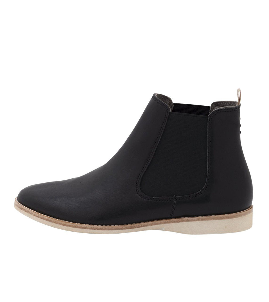 Rollie Boot Ankle - Chelsea Black - Global Free Style