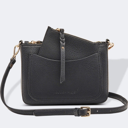 Louenhide Venice Black Crossbody Bag - Global Free Style