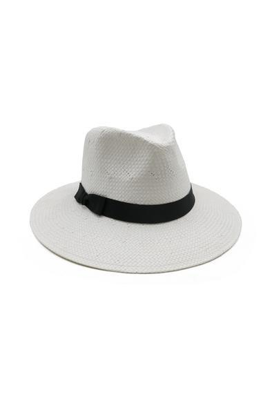 Morgan & Taylor Livia Fedora Hat White - Global Free Style