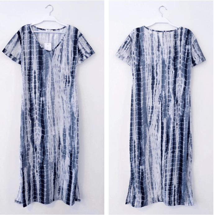 Love Lily Blue Skies Tee Dress - Global Free Style