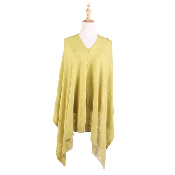 Ameise Poncho Alice Lime Green - Global Free Style