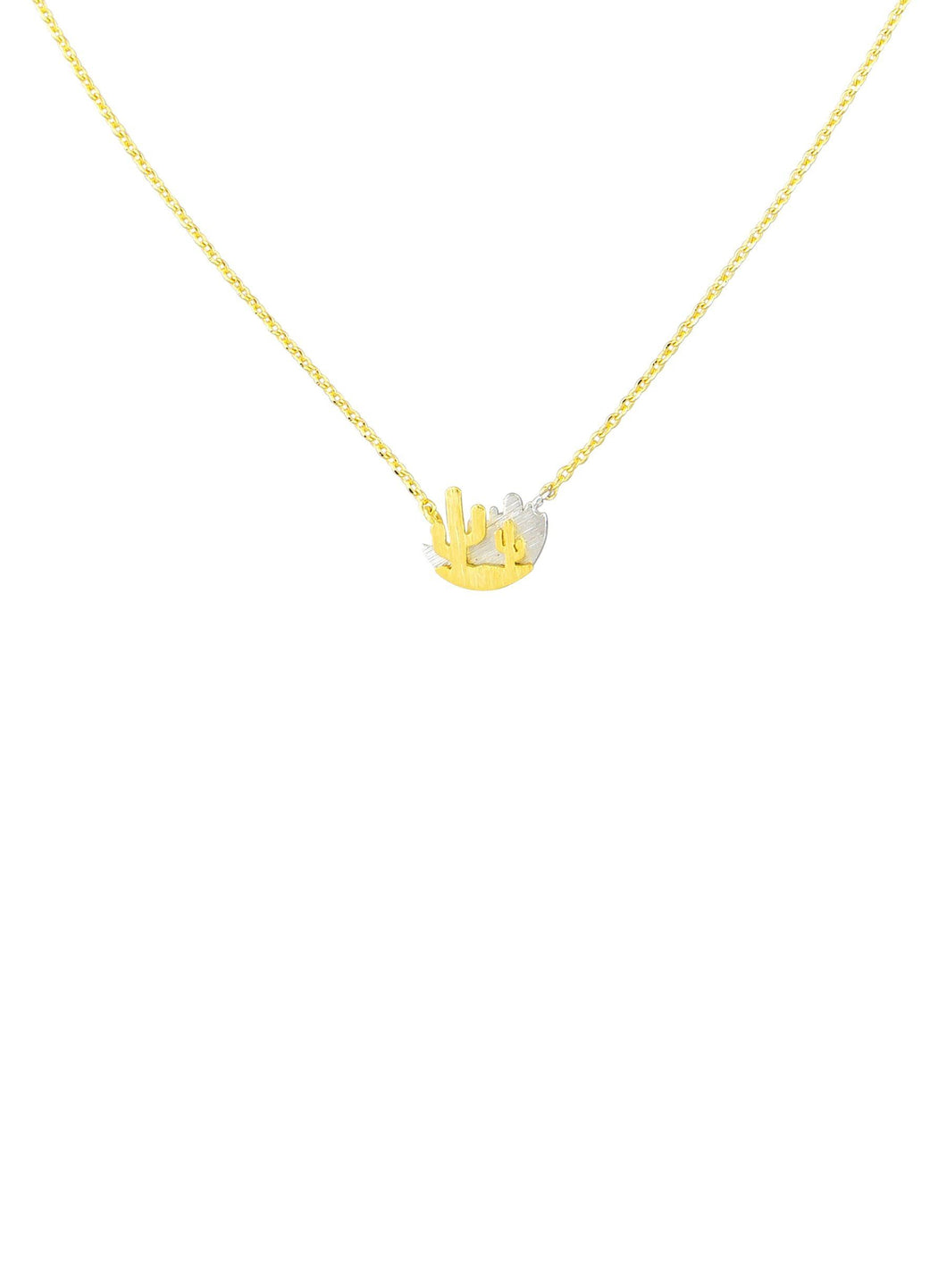Tiger Tree Gold Wild West Necklace - Global Free Style