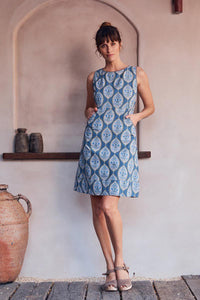 MahaShe Alana Dress Lapis - Global Free Style