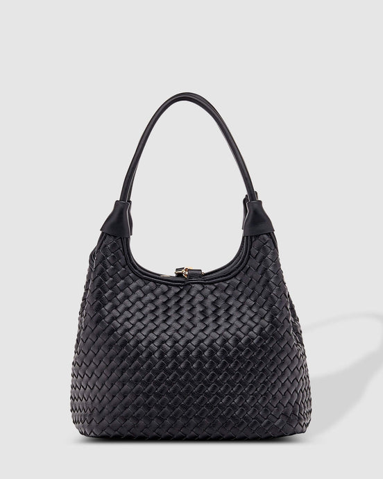 Louenhide Poppet Plait Black Bag - Global Free Style