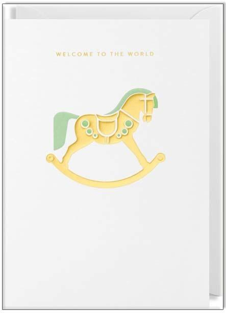 Waterlyn Card Welcome to the World - Global Free Style