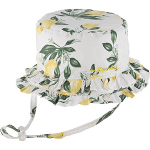 Milymook Baby Girls Bucket Hat Layla Yellow - Global Free Style