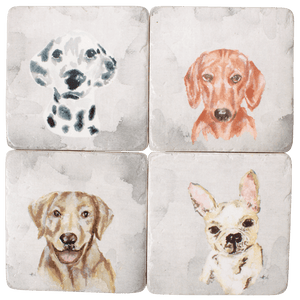 DWBH Puppy dogs Resin Coaster