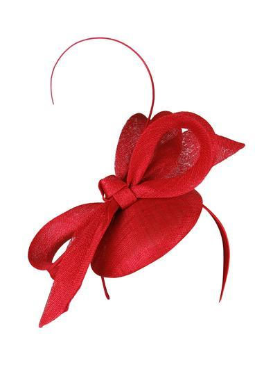 Morgan & Taylor Dahlia Fascinator - Red - Global Free Style