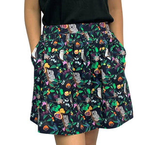 Monster Threads Nocturnal Animals Skirt - Global Free Style