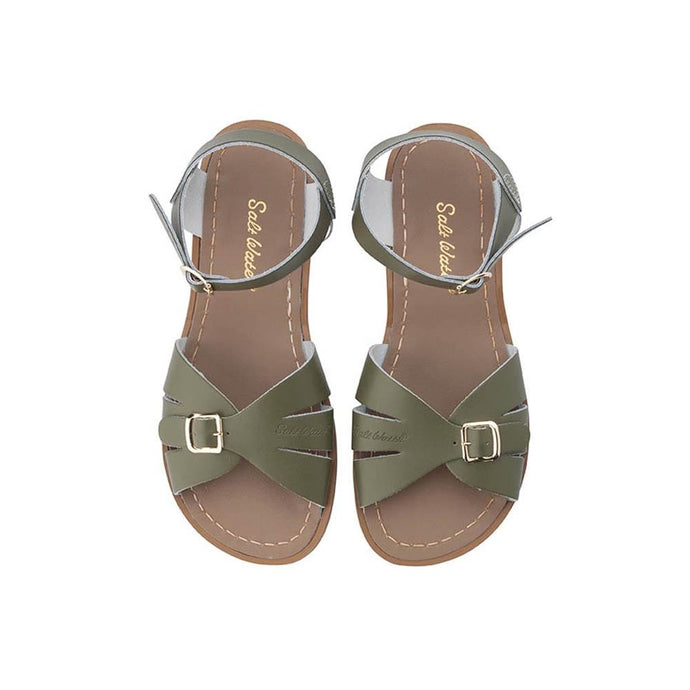 Salt Water Classic Shoes Adult Olive Green - Global Free Style