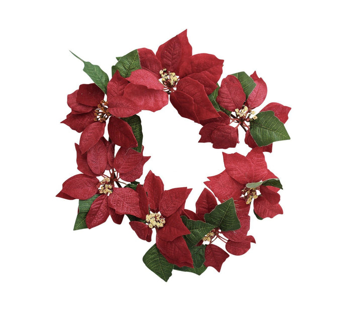 Lavida Wreath Poinsettia - Global Free Style