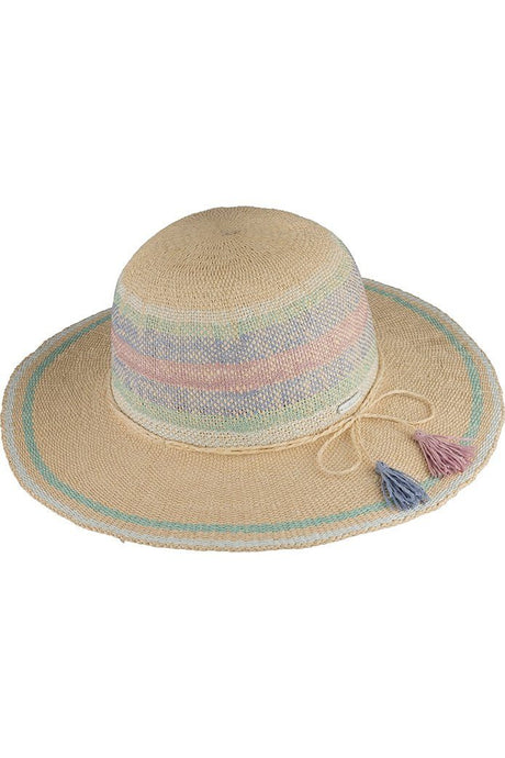 Millymook Girls Wide Brim Hat Erin Natural - Global Free Style