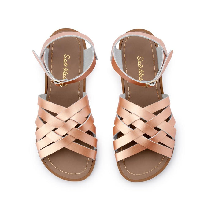 Salt Water Retro Sandal Shoe Rose Gold - Global Free Style