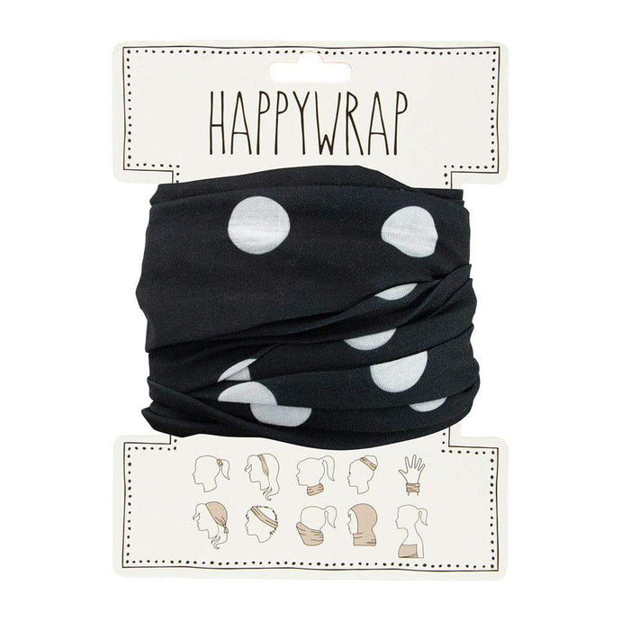 Annabel Trends Happy Wrap Black and White Spot - Global Free Style