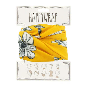 Annabel Trends Happy Wrap Mustard Floral - Global Free Style