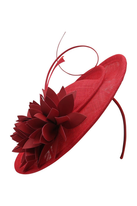 Morgan & Taylor Lizette Fascinator - Red - Global Free Style