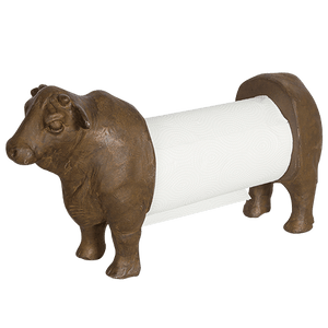 DWBH Kitchen Paper Towel Dispenser Bronze Angus Cow - Global Free Style
