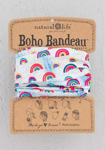 Natural Life Rainbow Boho Bandeau - Global Free Style