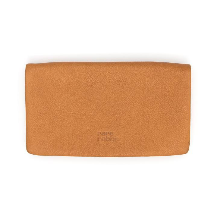 Rare Rabbit Voyager II Leather Large Wallet Tan - Global Free Style
