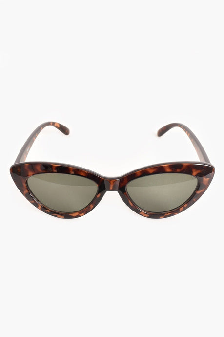 Adorne OTT Cats Eye Sunglasses Tortoise - Global Free Style