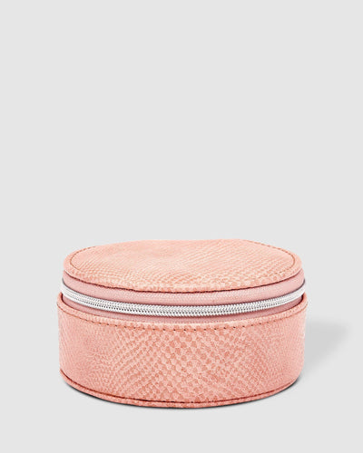 Louenhide Sisco Lizard Blush Jewellery Box - Global Free Style