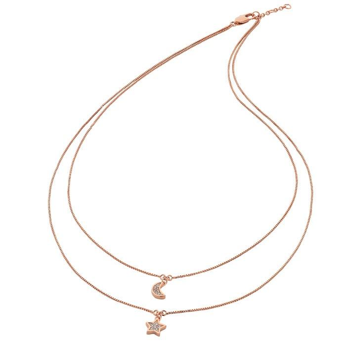 Liberte Luna Rose Gold Necklace - Global Free Style